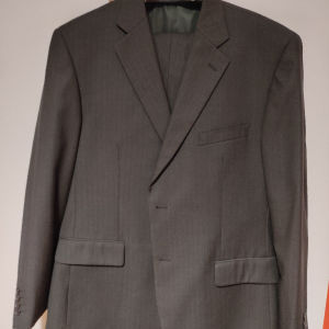 κουστούμι ανδρικό πανωφόρι νο62 παντελόνι νο56