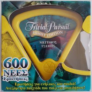 TRIVIAL PURSUIT - FAMILY EDITION - ΜΕΓΕΘΟΣ ΤΣΕΠΗΣ