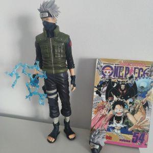 Kakashi + one piece manga