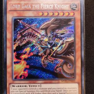 Lord Gaia the Fierce Knight Secret Rare
