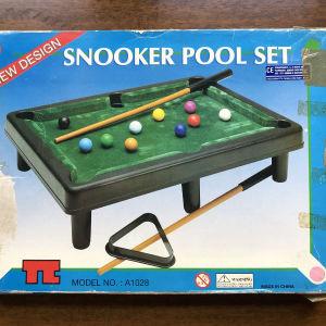 Επιτραπέζιο Sbooker pool set δεκαετία του 90