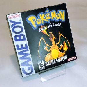 Pokemon Battle Factory κασέτα & κουτάκι Game Boy Gesto_official