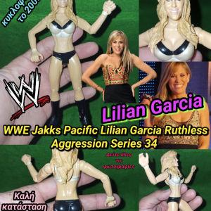 WWE Jakks Pacific Lilian Garcia Ruthless Aggression Series 34 Figure Αυθεντική Φιγούρα wrestling