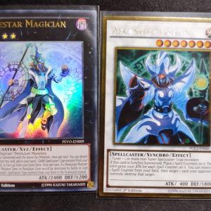 Arcanite Magician Gold Rare + Timestar Magician Ultra Rare