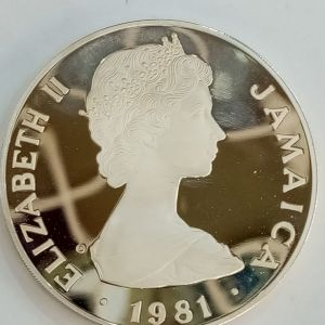 1981 Jamaica .925 Sterling Silver