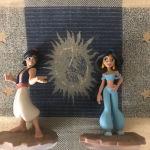 Disney infinity φιγούρες Αλαντίν και Γιασμίν για βιντεοπαιχνίδι