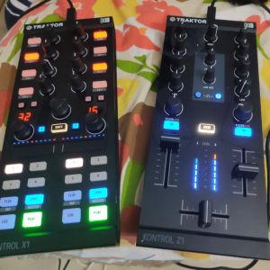 NATIVE INSTRUMENTS Traktor Z1& X1 mk2 DJ Controllers +2 NATIVE INSTRUMENTS TRAKTOR KONTROL BAGS!