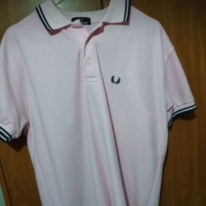 Fred perry ανδρικό ροζ polo