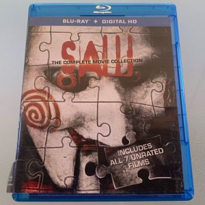 Saw - The complete movie collection blu-ray