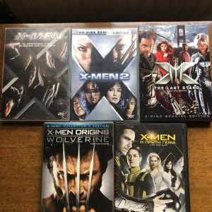 X-MEN DVD ταινίες όλες αυθεντικές