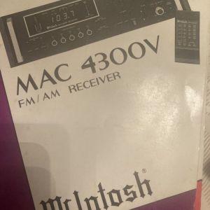 McIntosh FM/AM receiver ελάχιστα χρησιμοποιημένο 1200 ευρώ