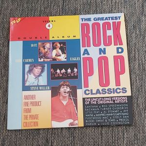 THE GREATEST ROCK & POP CLASSICS VOL. 4 ( 2 ΔΙΣΚΟΙ ) 1984 MADE IN HOLLAND