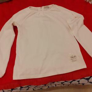 Λευκο, παιδικο μπλουζακι DPam για κοριτσι