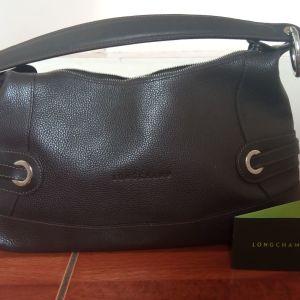 Longchamp δερμάτινη τσάντα ώμου/ χειρος