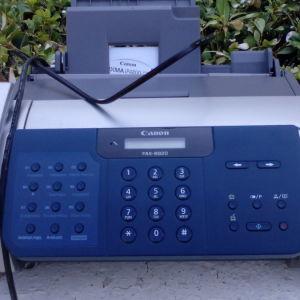 Φaξ inkjet canon B820 αυτόματος τηλε/της φωτοτυπικό &  φαχ panasonic