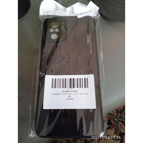 thikes gia Xiaomi REDMI NOTE 10  se tipou xilinike poco m3 kokkini dermatini.