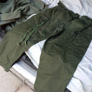 Στρατιωτικό Αμερικανικo Παντελόνι σε Χακί χρώμα