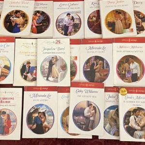 80+ ρομαντικά μυθιστορήματα