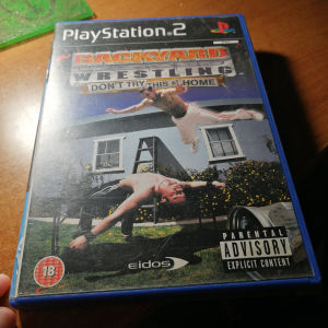 Backyard Wrestling Don't Try This At Home PS2