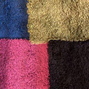 4 χαλάκια σε διαφορετικά χρώματα