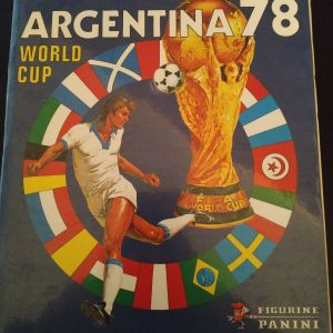 PANINI ΜΟΥΝΤΙΑΛ ΑΡΓΕΝΤΙΝΗΣ 1978- ARGENTINA 1978 official album χωρίς αυτοκόλλητα