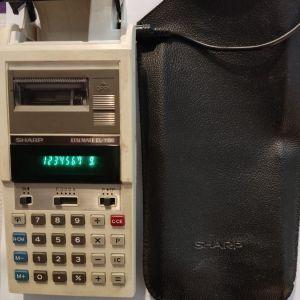 Αριθμομηχανή χαρτιού SHARP Elsi Mate EL-1186