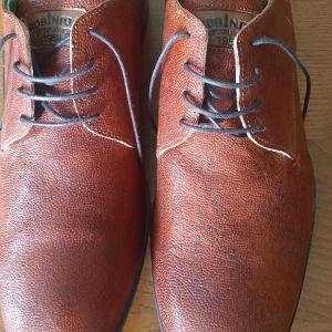 Παπούτσια ανδρικά δερμάτινα Robinson