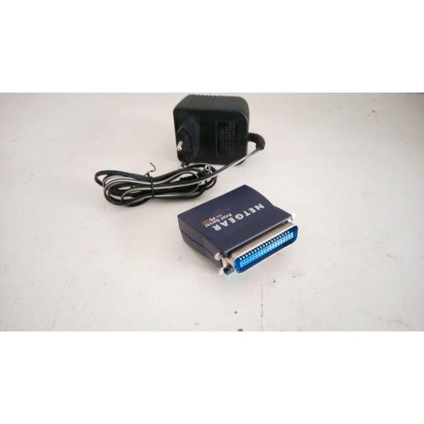 metatropeas NETGEAR Mini Print Server PS101. ektipotis parallilis thiras tha sindeete sto Ethernet