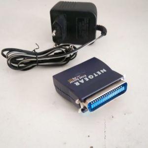 Μετατροπέας NETGEAR Mini Print Server PS101. Εκτυπωτής παράλληλης θύρας θα συνδέεται στο Ethernet