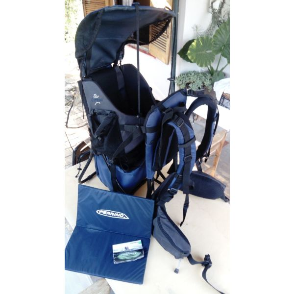 sakidio metaforas nipiou Ferrino Caribou backpack carrier