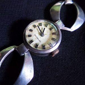 Αντίκα ασημένιο 925 ρολόι γυναικείο.