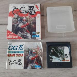 The GG Shinobi/Sega game gear