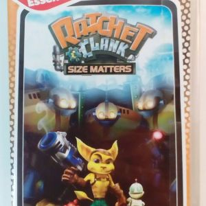 SONY PSP RATCHET CLANK SIZE MATTERS EUROPEAN NEW SEALED