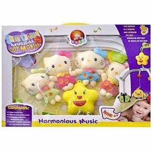 Παιδικό Μουσικό Παιχνίδι Sweet Cuddles Musical Cot Mobile (2023_8Ε)