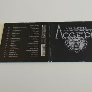 VARIOUS - TRIBUTE TO ACCEPT CD