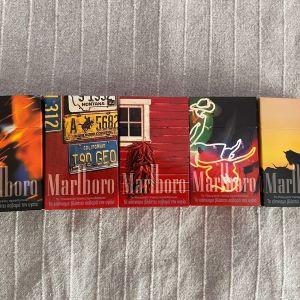 Συλλεκτικα πακέτα τσιγάρα άδεια / Silc Cut -Marlboro