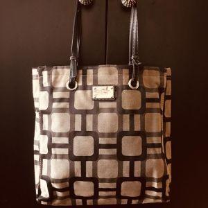Nine West Brand, Shoulder Bag, Dark Brown, Brown, Beige Colors Mixed, Magnet Lock, Not Used At All