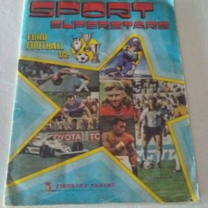 Panini Album Sport Superstars 1982 συμπληρωμένο