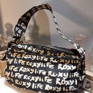 Γυναικεία τσάντα πανινη Quicksilver. Πολύ ωραία κ. Μοντέρνα. Black temptation.limited edition