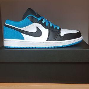 Jordan 1 Low Laser Blue (καινούργια)