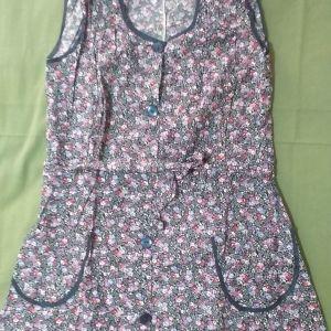 Vintage φόρεμα χωρίς μανίκι
