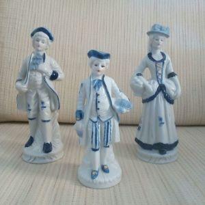 Πορσελάνινα αγαλματάκια