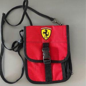 Τσαντάκι κρεμαστό και μεσης Ferrari