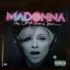 "Madonna ""The confessions Tour"" live CD/DVD"