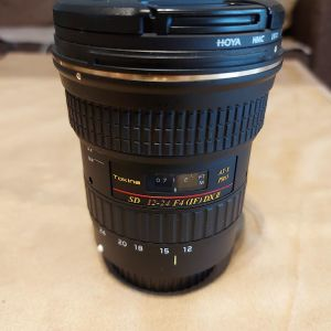 Tokina 12-24mm f/4 AT-X 124AF Pro DX II Lens for Canon EF + Θήκη