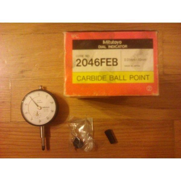 MITUTOYO Dial Gauge 2046FEB