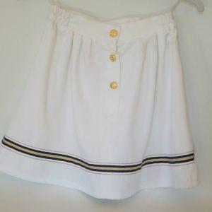 Vintage navy κοριτσίστικη φούστα 1980s