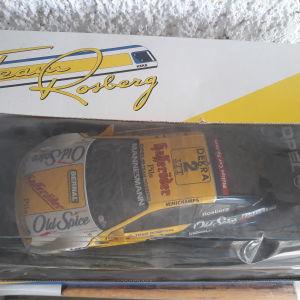 "OPEL ""team ROSBERG"" Μεταλλικό Συλλεκτικό Αυτοκίνητο 1:18 κλίμακας"