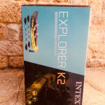 Intex EXPLORER K2 KAYAK - Διθέσιο Φουσκωτό κανό / Στην συσκευασία του / αμεταχειριστο με τις Ζελατινες του !!! Top Seller σε όλα τα Forums / Θαλάσσια σπορ