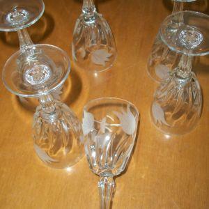 γυάλινα ποτήρια λικέρ